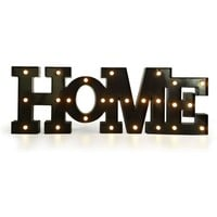 Black LED Hanging Home Marquee Sign