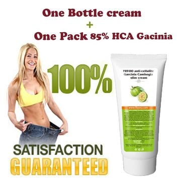 (1 tube) FiiYoo 85% HCA Pure Garcinia cambogia extract slimming creams plus garcinia Cambogia diet supplement weight loss cream