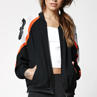 adidas Basketball Mesh Inset Track Jacket at PacSun.com