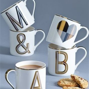 Buy Gold Alphabet Mug from the Next UK online shop
