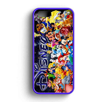 Disney Character Collage iPhone 5 Case iPhone 5s Case iPhone 5c Case
