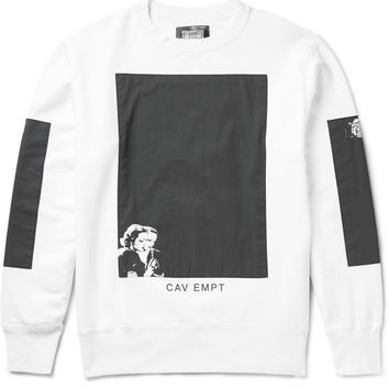 Cav Empt - Black Rooms Printed Loopback Cotton-Jersey Sweatshirt | MR PORTER