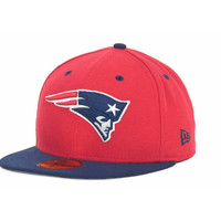 New England Patriots NFL 2 Tone 59FIFTY Cap