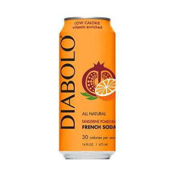 Diabolo Tangy Pomegranate Lite Carb Soda (12x16oz)
