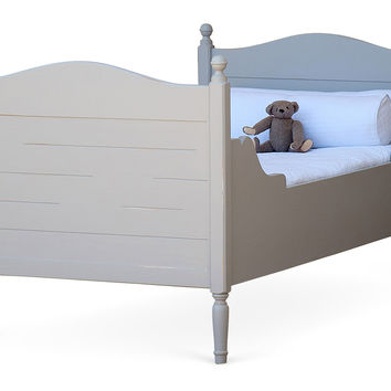 Gray Harry's Bed, Twin, Panel Beds