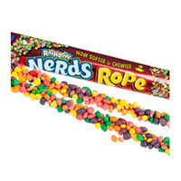 Wonka Rainbow Nerds Rope Candy Packs: 24-Piece Box