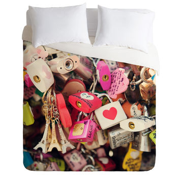 Catherine McDonald What The World Needs Now Duvet Cover