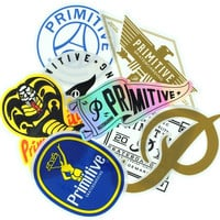 Primitive 8 Pack Assorted Decals