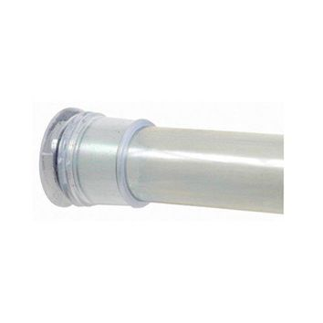 """Zenith 608S Adjustable Tension Shower Curtain Rod, Chrome, 40""""-60"""""""