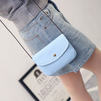 New 2016 Fashion Vintage Women Envelope Bag Leather Messenger bag Handbag Shoulder Crossbody Cross body Bag Purses clutch Bolsas