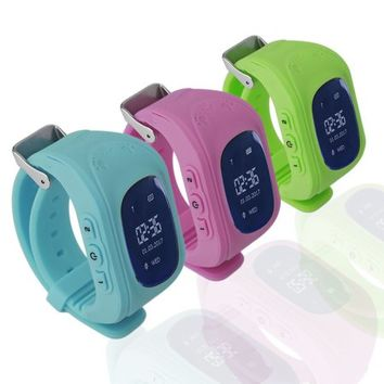 Children Kids Wrist Watch GPS Locator Tracker Anti-Lost Smartwatch Child Guard for iPhone lot - Walmart.com