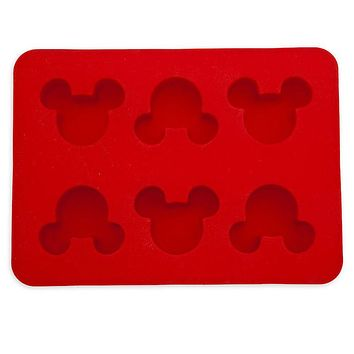 disney parks mickey icons silicone muffin baking mold new with card