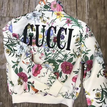 GUCCI Women Zip Up Jacket