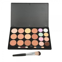 20-Color Make-up Modified Concealer + Foundation Brush Kit