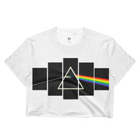 The Prism Band Tee Crop Top