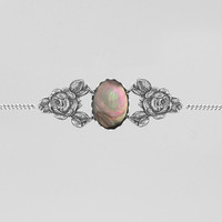 REST IN PEACE. Black Mother of Pearl Rose Choker – REGALROSE | SHOP Fashion Jewellery & Accessories