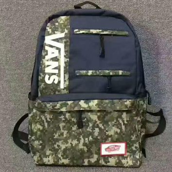 VANS Camouflage Trending Fashion Sport Laptop Bag Shoulder School Bag Backpack G-JJ-MYZDL-3
