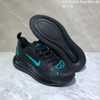 KUYOU N959 Nike Air Max 720 Nano - drop molded version of cushioned running shoes Black Blue
