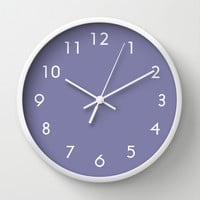 Purple Haze Wall Clock by Beautiful Homes