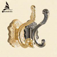 Dragon Design Wall Mount Towel Hanger Hooks For Clothes Coat Hat Bag Hooks Bathroom Accessories Shipping 8802