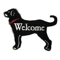 ANTIQUE WELCOME DOG SIGN