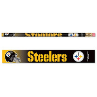 Pittsburgh Steelers NFL Pencil 6-pack