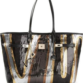 V73 'Cruise Pailettes' sequined tote