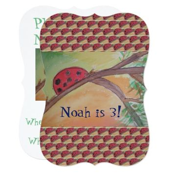You are my ladybug! card
