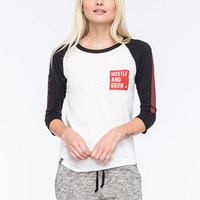 LRG Hustle And Grow Womens Raglan | Raglans & L/S Tees