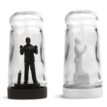 Drowning In Debt Salt And Pepper Shakers