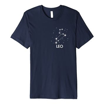 Leo Horoscope- Zodiac Sign T Shirts Astrology Constellation