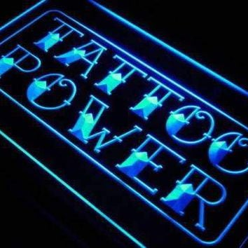 Tattoo Power Wall Decor Neon Sign (LED)