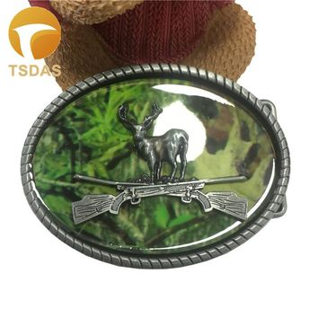Oval Hunting Belt Buckles