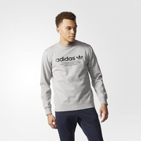 adidas Fashion Graphic Crew - Grey | adidas US