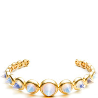 Graduated Gemstone Cone Cuff by Eddie Borgo for Preorder on Moda Operandi