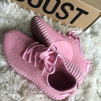 Pink Yeezy Boost 350's