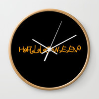 Halloween I Wall Clock by oldking