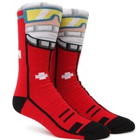 Neff Ski Patrol Snow Socks - Mens Socks - Red - One