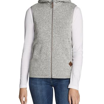 Women's Radiator Fleece Hooded Vest | Eddie Bauer