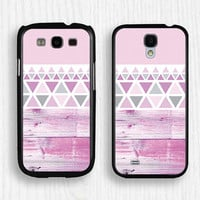 pink wood,pink geometry Samsung case,pink Note 3 case,art Note 2 case,Galaxy S3 case,Galaxy S4 case,Galaxy S5 case,pink geometry case,058