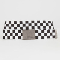 Vans Deppster Web Belt Black/White One Size For Men 27259112501
