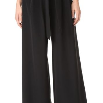 Trapunto Trousers