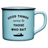 Camping Mug – Good Things Come to Those Who Bait directed by Indigo | Novelty Mugs Gifts | chapters.indigo.ca