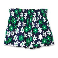Printed Hemming shorts