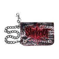 Slipknot Men's Star Hinge Wallet Tri-Fold Wallet Black