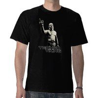 TECHNO VIKING BLACK Shirt from Zazzle.com