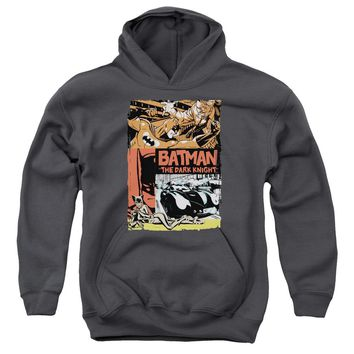 Batman - Old Movie Poster Youth Pull Over Hoodie