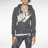 The Nike Rally Signal Full-Zip Women's Hoodie.