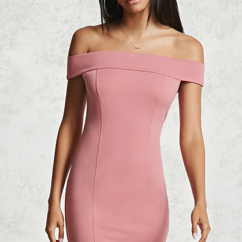 Mini Off-the-Shoulder Dress