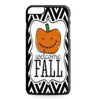 Halloween welcome fall iPhone 6 Plus Case
